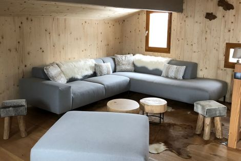 Social area in Chalet Le Hibou