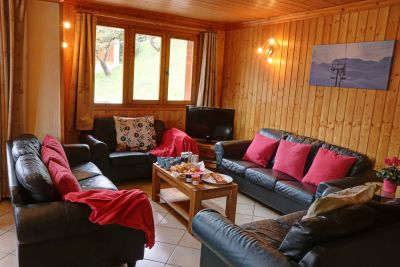 The Lounge in Chalet St Joseph