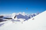 Ideal skiing conditions in Les Deux Alpes
