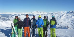 All adults on a ski holiday in Meribel