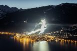 The Night skiing slope in Zell Am See